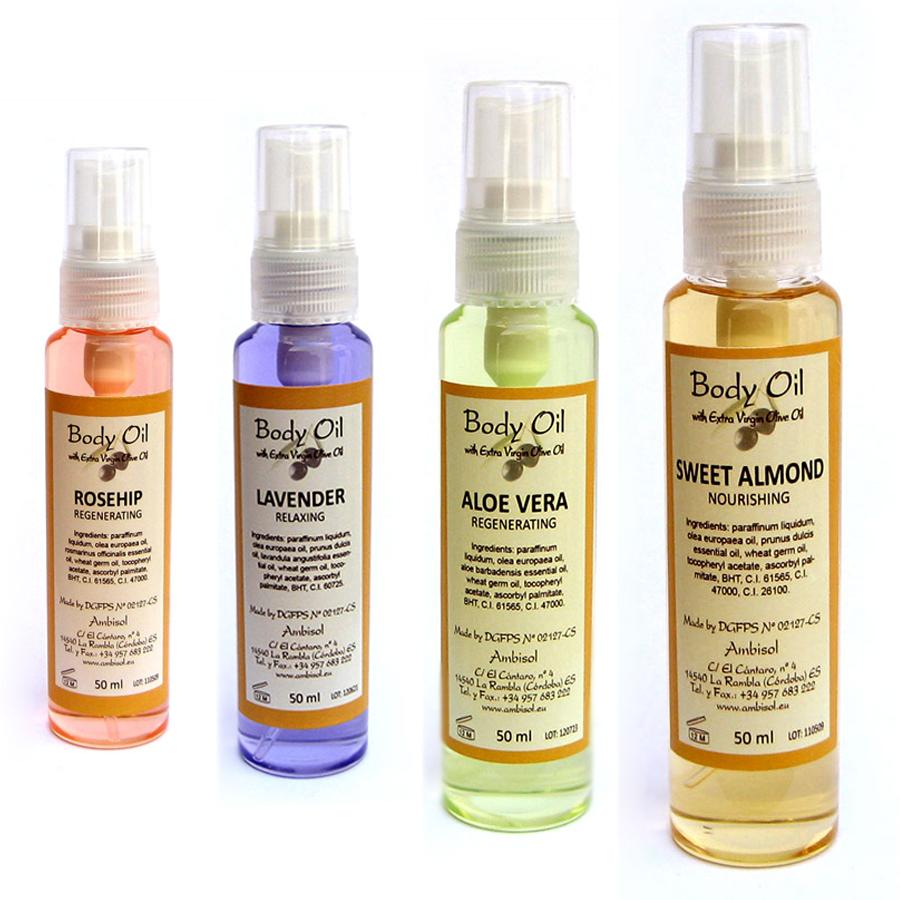 Body/massasje Oil Spray